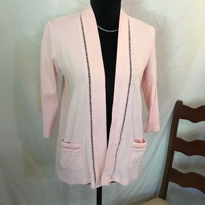 Baby pink cotton cover jacket